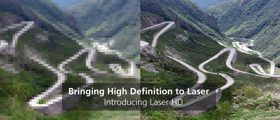 laser hd intro titel